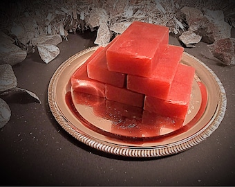 Hot apple pie soap bar