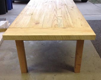 Customized farmhouse and picnic tables