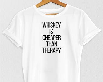 Whiskey T-Shirt - Whiskey T Shirt - Bar T Shirt - Funny T-Shirt - Drinking T-Shirt - T-Shirts - Women's T-Shirt