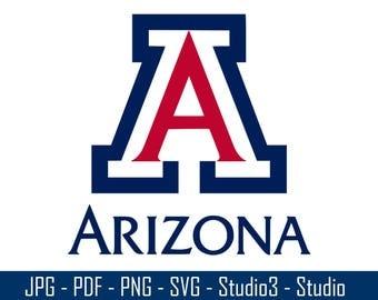 University of Arizona, Wildcats, College Sports, Basketbal, Footballl - Cut Files - SVG, PNG, Studio - Silhoutte. Cricut and More - CS048