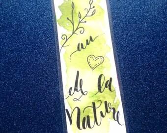 Nature bookmark