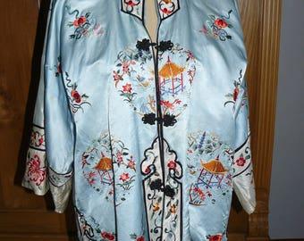 1920s-1930s silk kimono