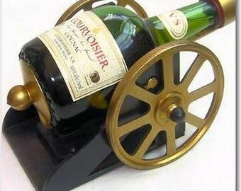 Vintage Courvoisier Cognac Mini Cannon Decanter