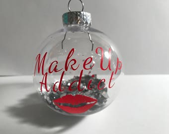 Makeup addict ornament