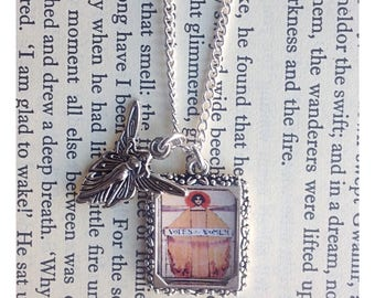 Votes for women suffragette themed charm necklace, picture charm necklace, suffragette jewellery, suffragette necklace