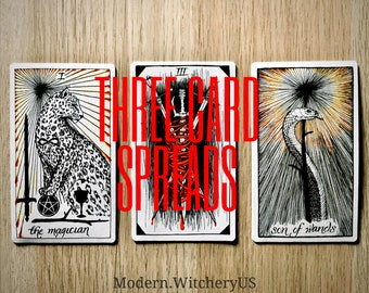 Three (3) Card Tarot Spreads