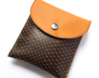 Handmade Leather Wallet, Womens Wallet, Leather Accessories, Leather Coin Case, Leather Purse, Leather Cards Holder, Gift for Her