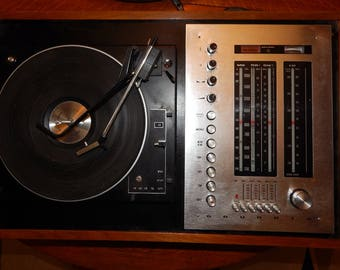 Grundig Radio with BSR turntable and 8-Track Player - Vintage 1970s: 175 dollars OBO