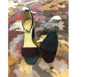 "Handmade ""Night"" sandal"