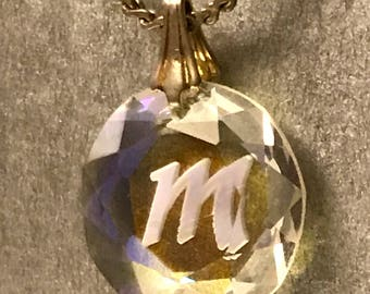 M for Magical pendant