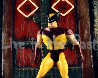 Secret Wars Wolverine action figure 8x10 toy photography print