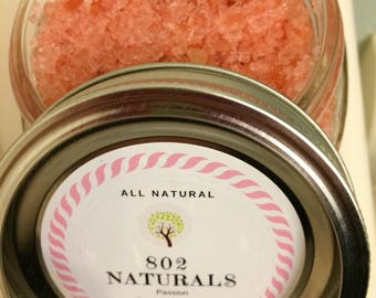 Rose Soothing Bath Salts. Perfect for Mother's Day Gift.