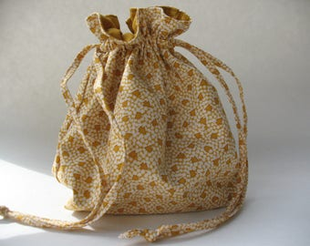 Gift Bag with drawstring closure