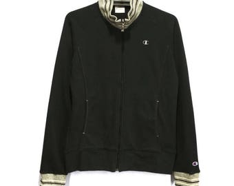 Vintage Champion Ladies Sweatshirt Sweater Full Zip