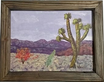 Desert Beauty with frame