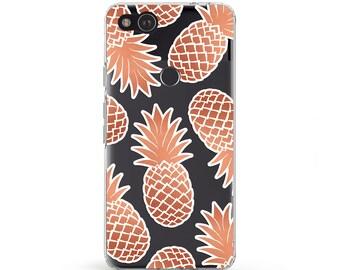 Tropical Fruit Pixel 2 XL Case Pineapple Pattern Galaxy 7 Case Cute Pineapple Samsung Galaxy s8 Fruit Phone Case Pixel Case LG v20 Samsung