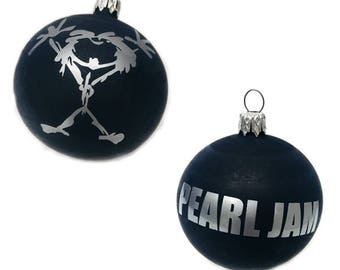 Pearl Jam Alive Stickman Christmas Tree Ornament, esfera navidad