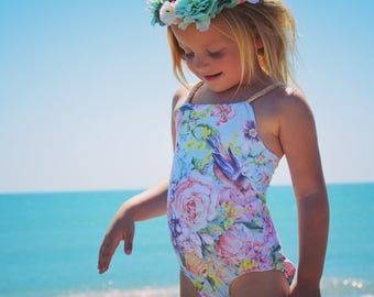 Handmade swimsuit dancewear gymnastics