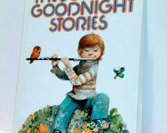 The Book of Goodnight Stories vintage hardcover, copyright 1987.
