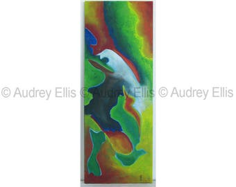 Hand Painted Original Acrylic Painting, Acrylics on Canvas, No. 23