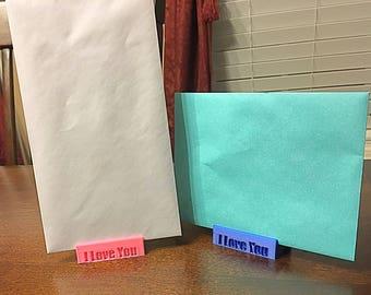 Greeting Card Holders (Gift, Holidays, Birthdays, etc)