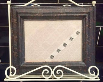Hand Decorated Photo Frame Idea Mens Gift