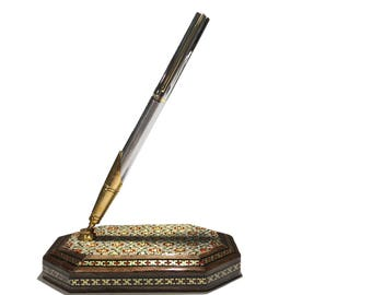 desktop pen holder