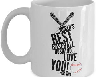 WORLD'S BEST Baseball Husband! Coffee Mug