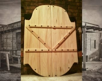 Saloon doors etsy for Porte saloon