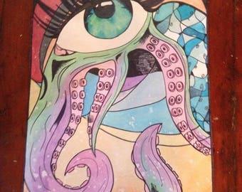 Octo-eye Poster