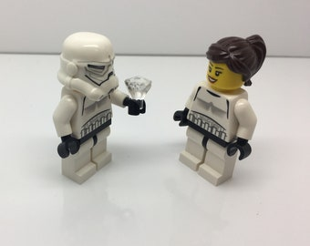 Lego Lot of Star Wars Engagement Minifigures Free US Shipping