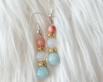 Cotton Candy Earrings