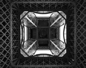 Eiffel Tower, Paris.  Detail