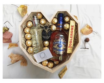 Chivas Regal Heart Box