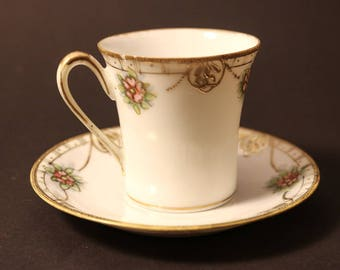 Japanese Teacup and Saucer