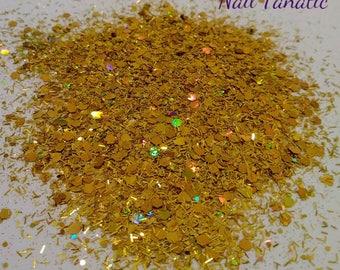 24K Holographic Glitter Mix