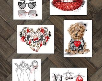 Designer Valentine's day card collection