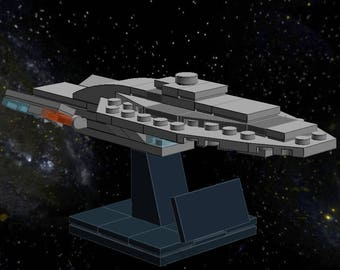 USS Voyager - Lego Star Trek - Instructions/Parts List - Files Only