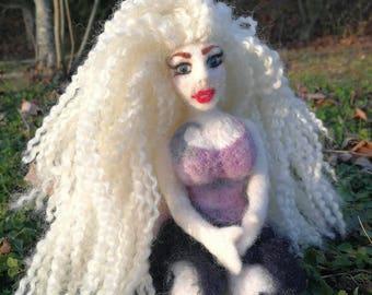 doll fairy felted needles