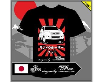 T-shirt Toyota Land Cruiser Prado J120W