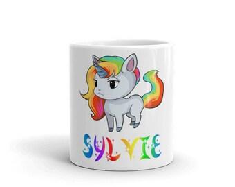 Sylvie Unicorn Mug