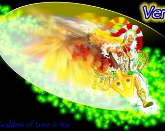 Venus - Roman Goddess of Love and War screensaver