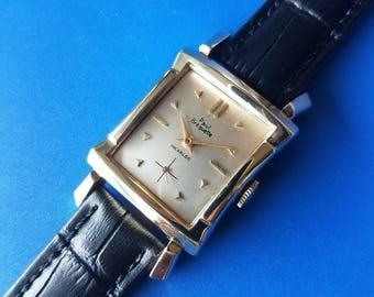 Vintage 1960s Mans Paul Breguette *GIRARD-PERREGAUX* Fully Seviced