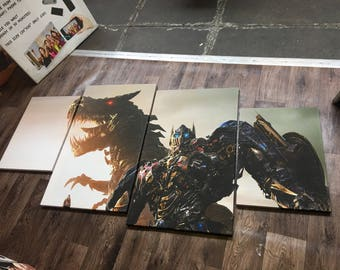 Transformers 4 Piece Canvas