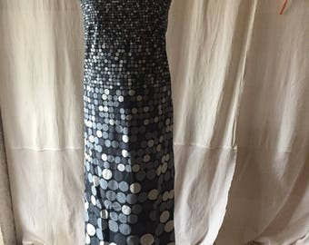 Points about dots-dress for the summer