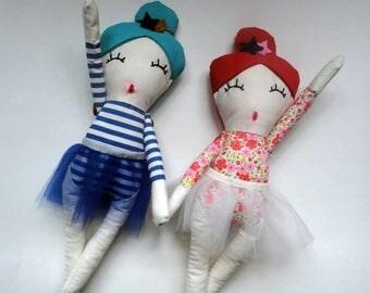 Handmade Rag Doll * Plof dolls * Handmade Dolls