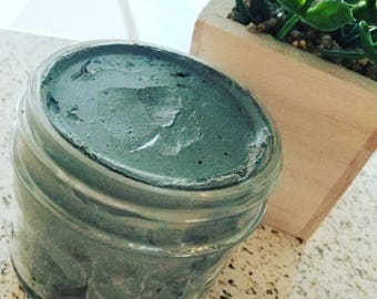 Activated Charcoal Purifying Clay Mask l 4oz