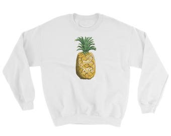 Psych TV Show C'mon Son! Pineapple Sweatshirt Shawn Spencer and Gus Burton Guster Art Gift