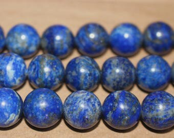 15 Inches Full strand,Natural Lapis lazuli Smooth Round Beads 6mm 8mm 10mm 12mm beads,loose beads,semi-precious stone