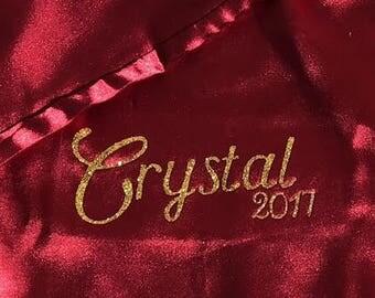 CUSTOM Silk Nightgown